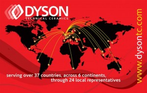 Dysons Global Distribution Network
